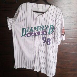 on sale 9cd5b 0feac Other | Arizona Diamondbacks Throwback Jersey | Poshmark